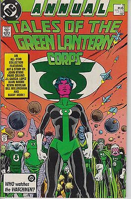 Tales of the Green Lantern Corps Annual 3 - 1987 - Moore -  Fine/Very Fine