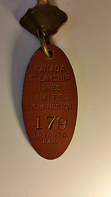 Historic SS Kingston Canadian Steamship LIne Key and Fob