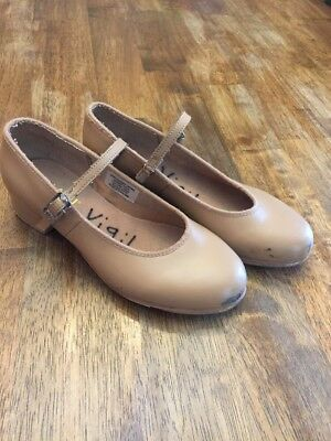 Bloch Girls Tap Shoes Size 1 M Youth Techno Tap