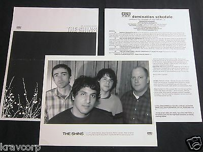 The Shins 'Oh Inverted World' 2001 Press Kit—Photo