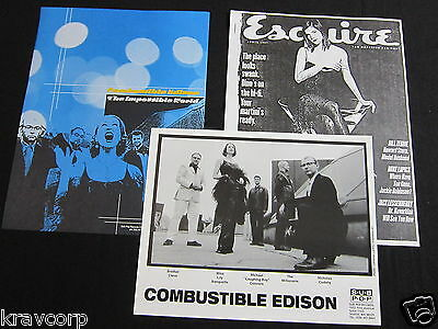 Combustible Edison 'The Impossible World' 1998 Press Kit--Photo