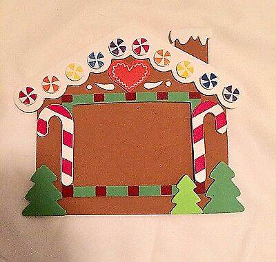 Gingerbread House Magnetic Picture Frame
