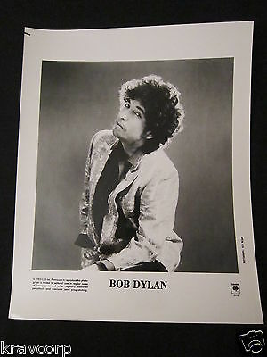 Bob Dylan 'Empire Burlesque' 1985 Publicity Photo