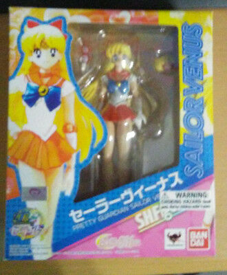 Bandai S.H. Figuarts Sailor Venus Authentic Original US Sailor Moon
