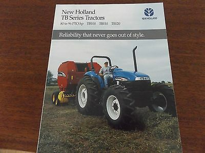 NEW HOLLAND TB Series Tractors Literature-#NH1050341
