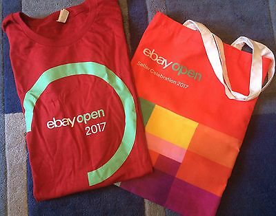 eBay Open 2017 Shirt (XL) and Tote Bag