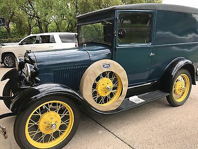1929 Ford Model A Panel Delivery Truck Model A 1929 Panel Truck