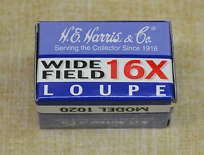 Harris Wide Field 16x Loupe Magnifier