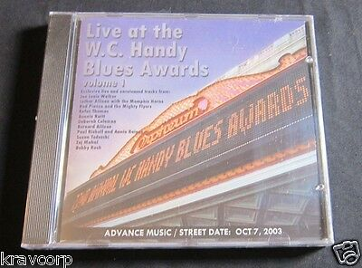 Bonnie Raitt/taj Mahal 'Live At W.c. Handy Awards Vol. 1' 2003 Advance Cd—Sealed