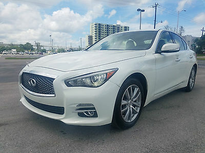 2016 Infiniti Q50 1Sedan 4-Door 2016 Infiniti Q50 TURBO 2.0L FULLY LOADED RUNS GREAT ALL WHEEL DRIVE BEST OFFER