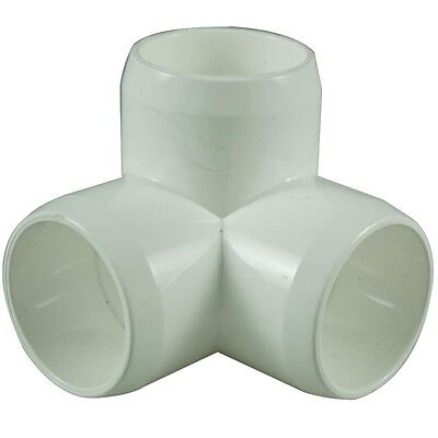 3 Way 25mm PVC Pipe, Cage Fittings, Schedule 40 pressure pipe
