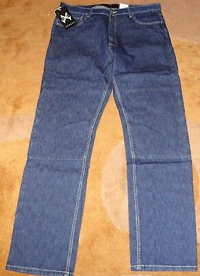 Hornee Jeans Blue SA-M8 Motorcycle Jeans Size 36