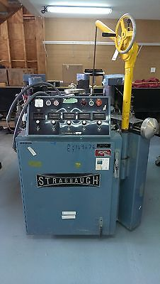 "Strasbaugh 6DH 36"" Continuous Polisher Precision Optical Flat Glass"