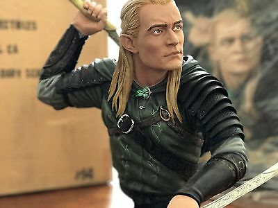 Sideshow Collectibles Lord of the Rings Legendary Scale Bust Legolas #154 LOTR