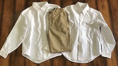 Lands End Kids / Ralph Lauren Boys Uniform Lot Size 10-12