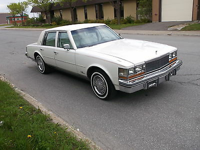 Cadillac: Seville 1977 cadillac seville triple white fully loaded
