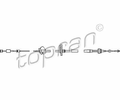 Topran 112 160 Throttle Cable