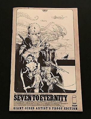 Seven to Eternity #1 & 2 Giant Sized Artist's Proof Edition Image Comics Opena