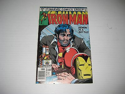 Iron Man #128 (Nov 1979, Marvel) Demon in a Bottle Classic Alcoholism Cover
