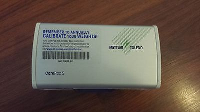 Mettler Toledo CarePac Test Weights ASTM with Case, 100 g and 5 g