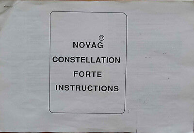 Novag Constellation Forte Elctronic Chess Instructions