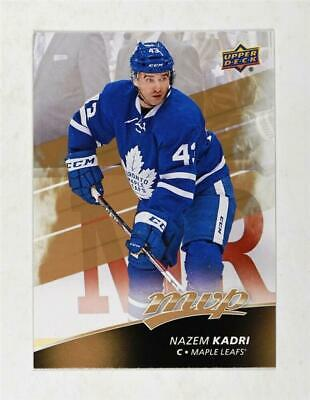 2017-18 Upper Deck MVP Base #19 Nazem Kadri - Toronto Maple Leafs