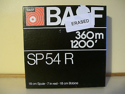 BASF SP54R recording tape 1/4inch 1200 ft.