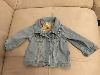 carters jean jacket baby 9 month