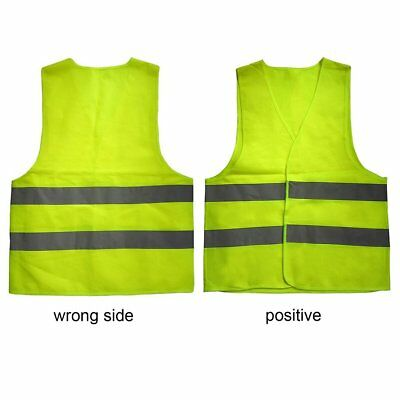 High Visibility Reflective Fluorescent Vest Outdoor Safety Ventilate Vest OK