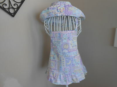 Toddler's Apron With Matching Hat Size 2