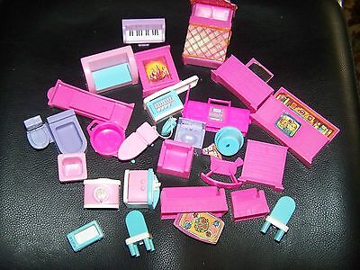 Mixed lot of Plastic Doll House Furniture