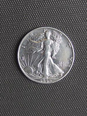 Vintage 1946 S Walking Liberty Half Dollar - A Really Fine Coin!!