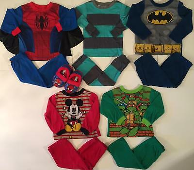 Boy 24 Months 2T Fall Winter Pajama Sets Clothes Lot ***free Shipping***