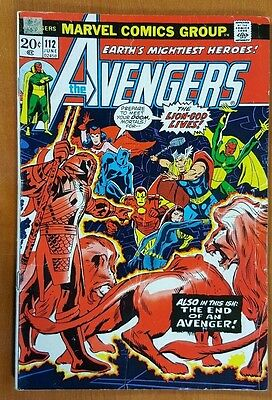 The Avengers # 112 1st Mantis Key GOTG 2 Guardians of the Galaxy Silver Age