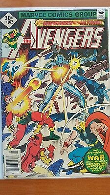 THE AVENGERS 1978 ~ Marvel Comics The Avengers #162 First Jocasta