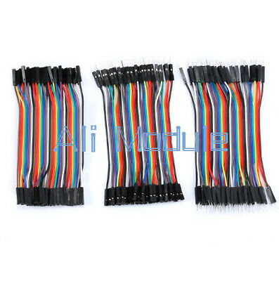 Dupont Wire Male to Male Male to Female Female to Female Jumper Cable 120x10cm K