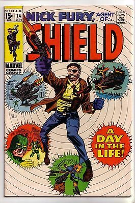 Nick Fury # 14 Silver Age Issue