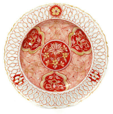 Chinese export pierced plate, C. 1750