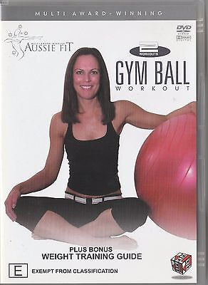 Fitness DVD - Gym Ball Workout - Used - Region 4
