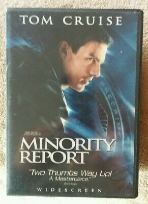 Minority Report (DVD, 2002, 2-Disc Set, Widescreen)  Like New