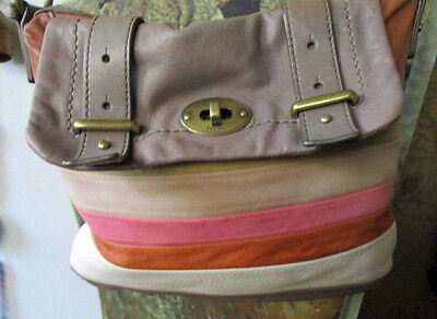 Ladies Leather Shoulder Bag   By *Fossil