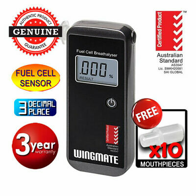 Andatech WINGMATE ROVER Fuel Cell Breathalyser Alcohol Breath Test Tester