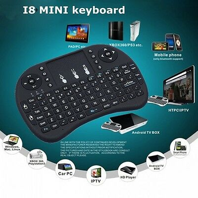 i8+ 2.4GHz Wireless keyboard Air Mouse Remote For Android Smart TV BOX MXQ #15