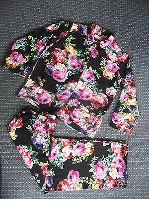 PETER ALEXANDER PJ set, floral size small