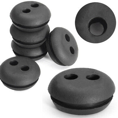 5x 2 Hole Fuel Gas Tank Rubber Grommet Replacement For Stihl Husqvarna Homelite