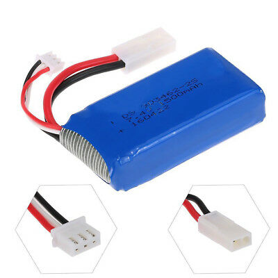 FT009-15 7.4V 1500mAh Upgraded LiPo Battery Spare For Feilun FT009 RC Boat