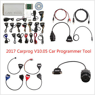 Car ECU Programmer Carprog V10.05 Full Newest Version With All 21 Items Adapters
