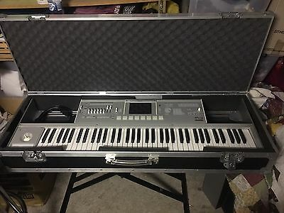 Korg M3-73 Xpanded  Synth Workstation With Swan Flight Case
