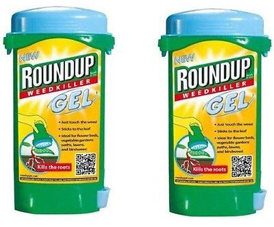 2 x Roundup Weedkiller Gel 150ml Ready To Use Two Pack Glycophosate FREE POST