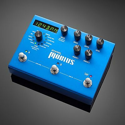STRYMON MOBIUS Modulation Effects Pedal - Brand new. Authorized Dealer!